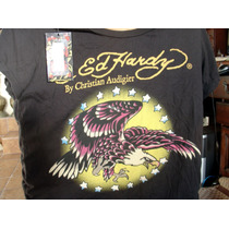 Playera Ed Hardy Aguila Made In U.s.a. Talla 2x