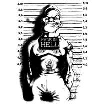 Playera King Monster Mod: Popeye Jail