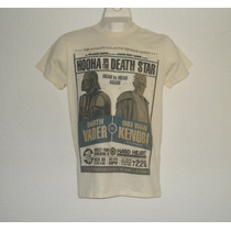 Playera Camiseta Star Wars Darth Vader Vs Obi Wan Wrestling
