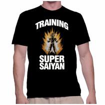 Buen Fin Playeras Gym Goku Entrenando