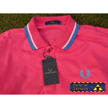Oferta Polo Fred Perry Color Rosa Talla Xl