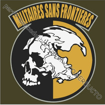 Playera Metal Gear Msf Militaires Sans Frontieres