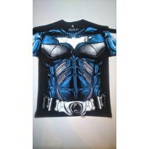 Playeras Superheroes Hombre Marvel Y Dc