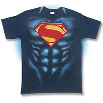 Playera Man Of Steel, Superman, Fiesta Regalo Phantomasx One