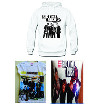 Paquete Big Time Rush Sudadera,playera Y Cojin