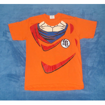 Playera Camiseta Dragon Ball Z Son Goku Traje Torso Dbz Cos