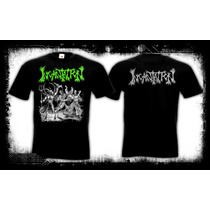 Incantation - Blasphemous Cremation Camiseta Death Metal