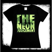 Neon Judgment - Logo Playera / Blusa Industrial Front 242