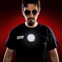 Playera Stark Industries Ironman Led