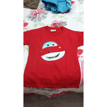 Playera Super Jett Super Wings De Discovery Kids