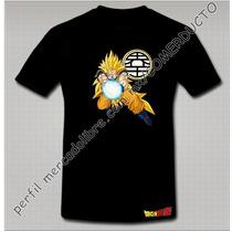 Playera Dragon Ball Z Playera Goku Kame Ftfb
