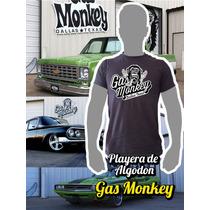 Playera De Algodon Gas Monkey