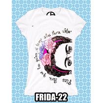Ropa Camisetas Frida Kahlo Diego La Tercera Es Gratis ¡