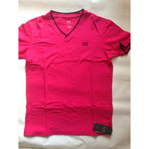 Playera Armani Exchange Color Fiusha 100% Original Nueva Ax