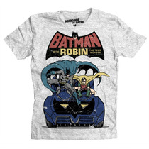 Playera Batman El Dúo Dinámico De Mascara De Latex