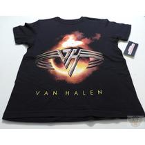 Van Halen Playera L N Mod Logo Talla Juv-ch-m-gde Danbr68