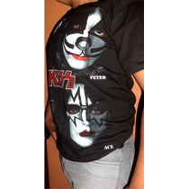 Increible Playera Kiss Obscure Rock Acid Full Impresion Uni.