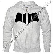 Sudadera Batman V Superman Tdk Affleck Zipper Yuqe