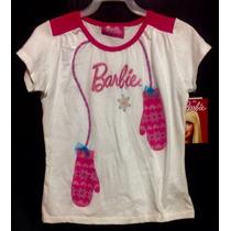 Playera Blusa Casual Barbie Disney Princesa
