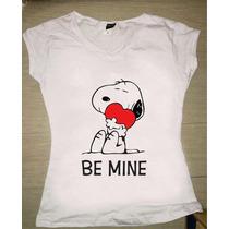 Snoopy Playeras Varios Diseños Dama / Caballero / Infantil