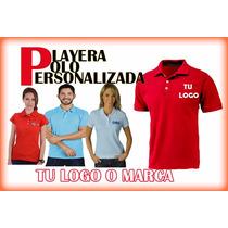 Playera Polo + Tu Logo - Tu Publicidad Todo El Año!!
