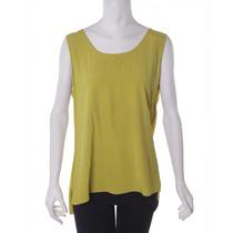 Blusa Color Mostaza Neiman Marcus