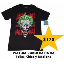 Playera Forever Evil The Joker Marca Toxic