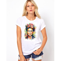 Playeras Vogue Frida Kahlo Y De Actrices O Actores Cine