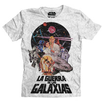 Playera Star Wars Star Wars Poster Mascara De Latex