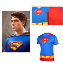 Playera 3d Impresa Tecnología Dry Cool Superman