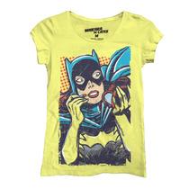 Playera Batman Batgirl Mujer De Mascara De Latex