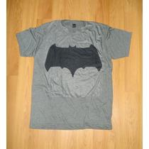 Batman Bvs Nuevo Escudo Playera Camiseta Comic Movie