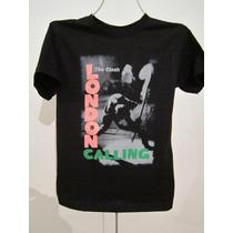 Playera, The Clash, London Calling, Nueva, Todas Las Tallas,