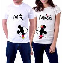 Playeras Mickey Mouse Personalizadas 14 De Febrero