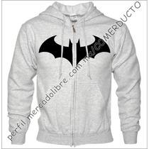 Sudadera Con Cierre Batman Arkham Logo Sudadera Batman Qykp