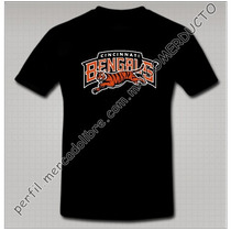 Playera Bengals Playera Cincinnati Bengals Tigre Salta Drty