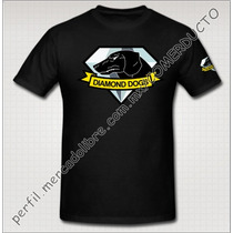 Playera Metal Gear Diamond Dogs Playera Diamond Dogs Phantom
