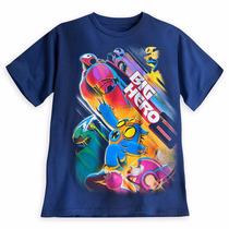 Big Hero Playera Caballero Baymax Talla L Disney Store