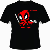 Playeras Personalizadas Marvel Deadpool Comics Geeko Tshirt