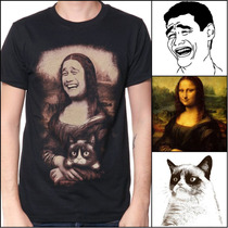 Playera King Monster Mod: Meme Lisa