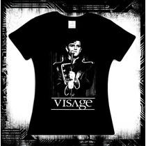 Visage - Night Train Blusa New Wave Depeche Mode Morrissey