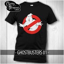 Promoción Playeras Cazafantasmas Ghostbusters Logo No Ghost