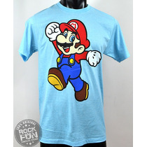 Super Mario Bros Playera Importada 100% Original