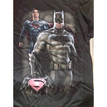 Playera Batman Vs Superman Niño Original Importada
