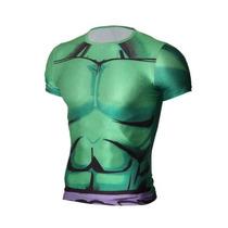 Playera Hulk Marvel Licra Compresion Tarda 4-5 Semanas