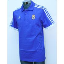 Playera Adidas Real Madrid Polo Para Hombre 100% Algodón 001