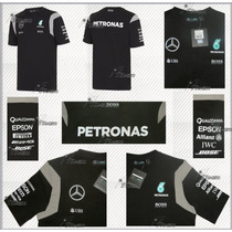 Playera Mercedes Amg Petronas F1 Linea 2016 Hamilton Rosberg