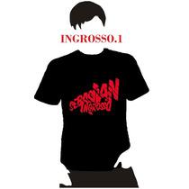 Playera Dj Sebastian Ingrosso, Hombre Niño Dama Promo 4 X 5