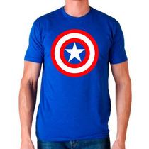 Playera Capitan America Marvel Comic Muchos Mayoreo Catalogo