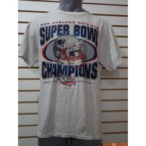 Playera Patriots Super Bowls Champions Caballero T L